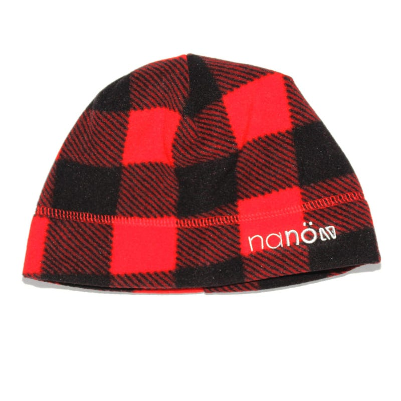 Fleece Plaid Beanie 5-6x