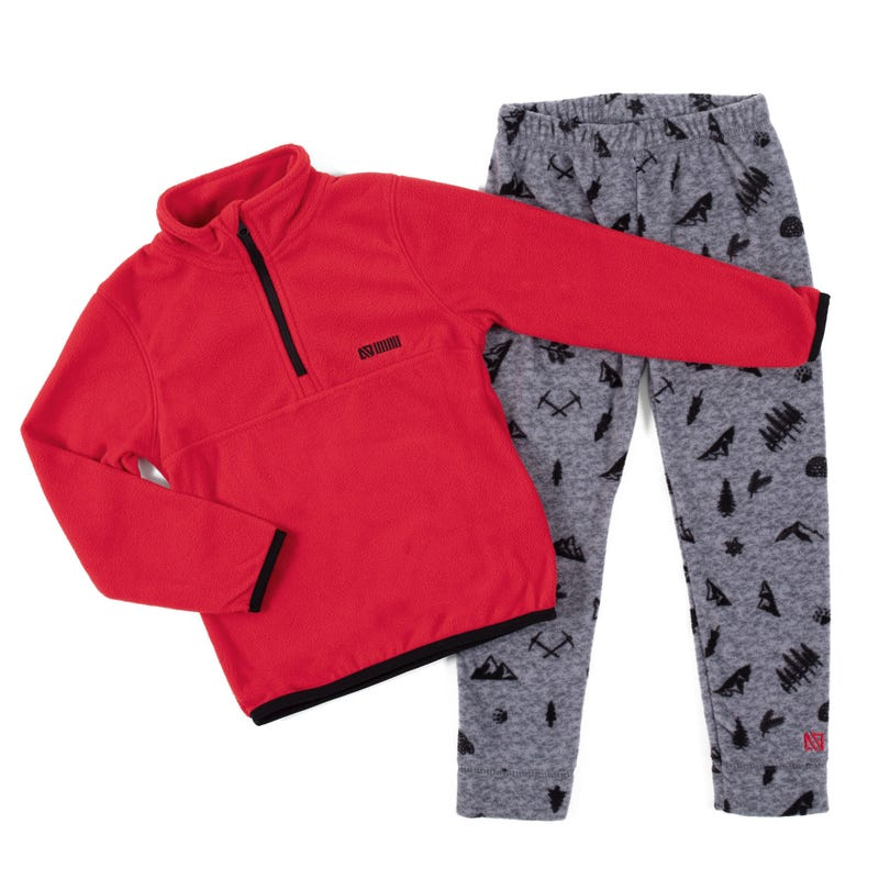 Ensemble Thermal Igloo Rouge 2-6ans