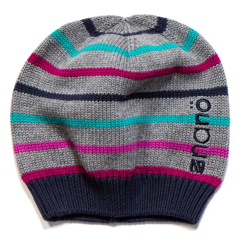 Tuque Tricot Rayee Fille 12-24