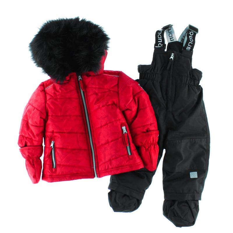 Rosa Puffy 2pc Snowsuit12-24