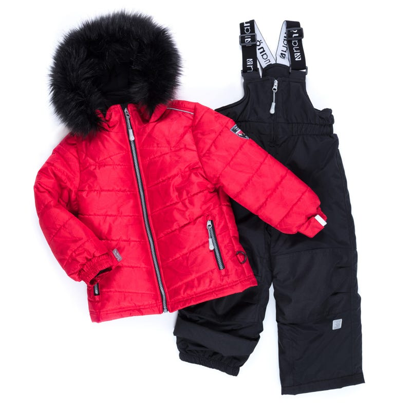 Rosa Puffy Snowsuit 2-6x