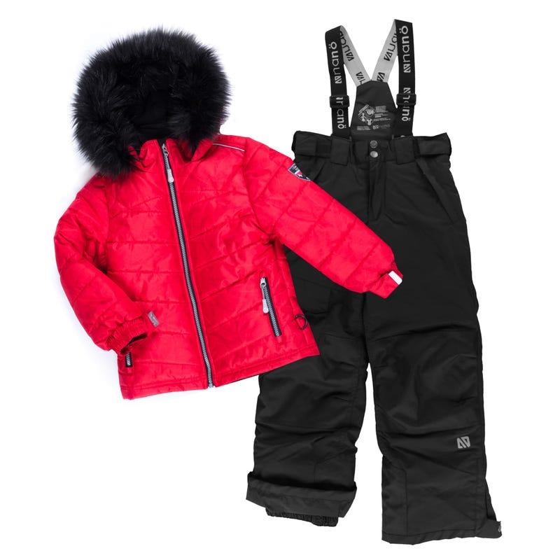 Rosa Puffy Snowsuit 7-12