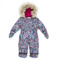 Geometry Snowsuit 12-24m