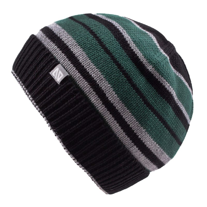 Striped Knit Beanie 2-6