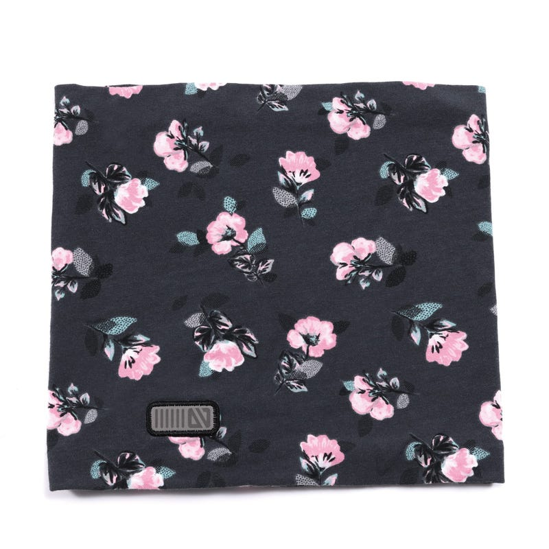 Flowers Cotton Neckwarmer 12m-3y