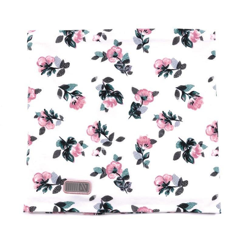 Cache-Cou Jersey Fleurs 12mois-3ans