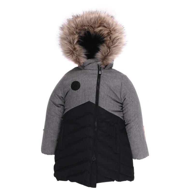 Long Puffer Jacket 4-6y