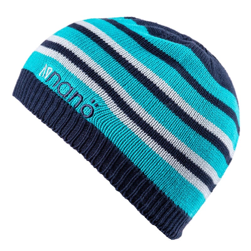Knit Striped Beanie 5-6y