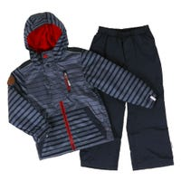 Striped 2 Pieces Outerwear 2-6y