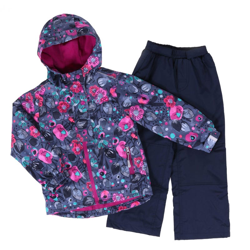 Flowers 2 Pieces Outerwear 7-10y