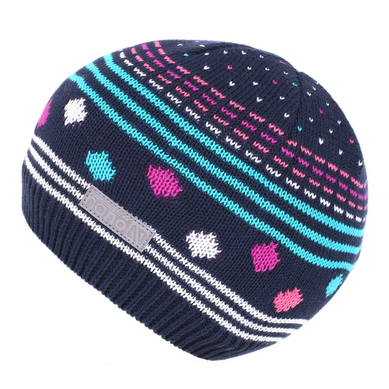 Tuque Rayée 12-24mois - Turquoise