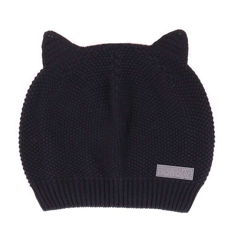Cat Knit Beanie 12-24m