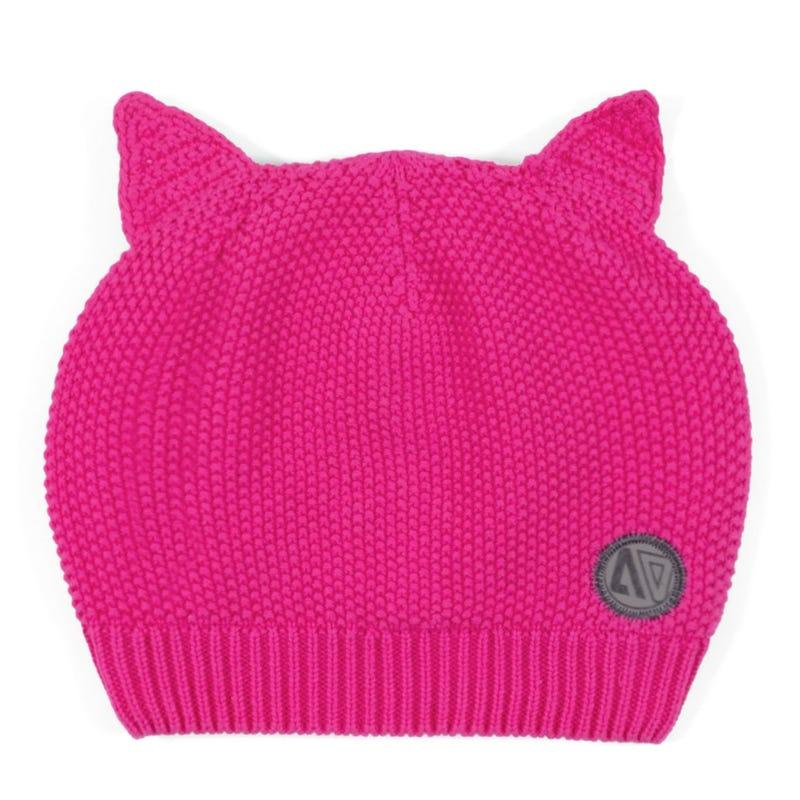 Cat Knit Beanie 2-6X