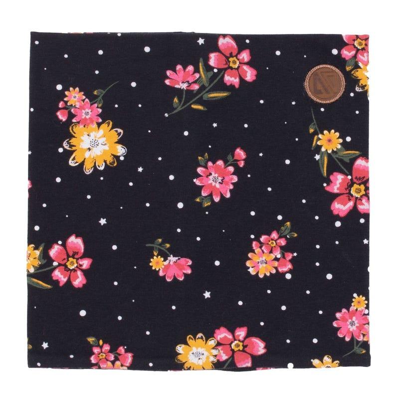 Cache-Cou Coton Fleurs 4-12ans