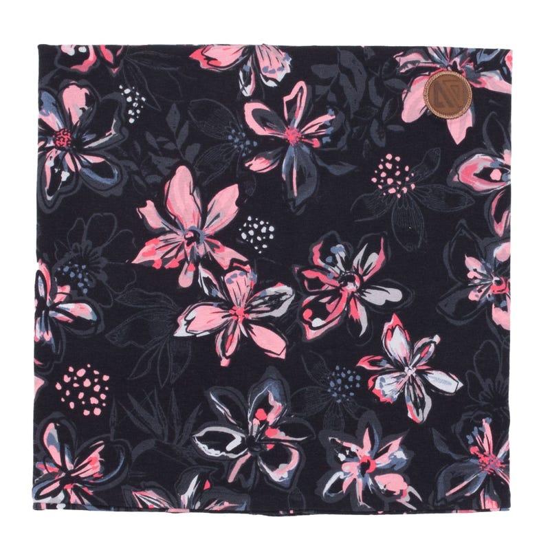 Cache-Cou Coton Fleurs 12mois-3ans