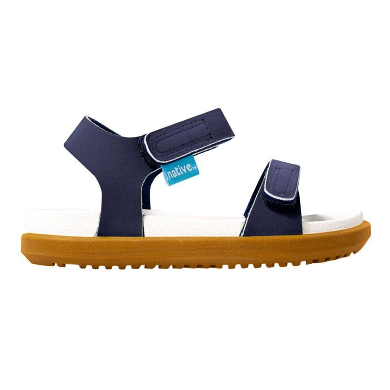 Navy Charley Sandals