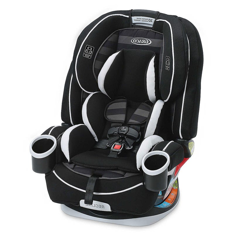 4Ever 4-in-1 Convertible Car Seat 40-120lb - Rockweave