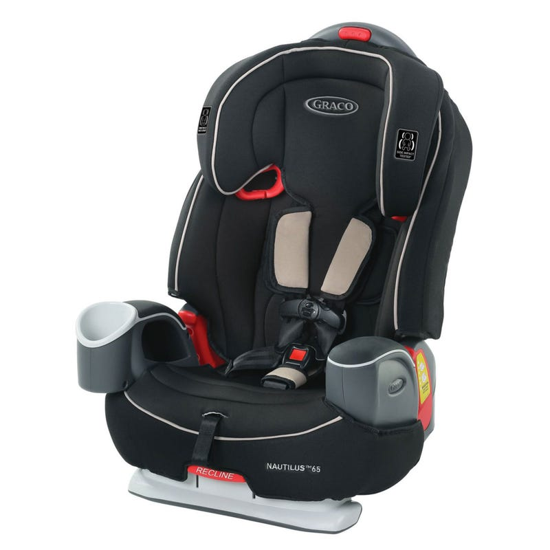 Nautilus 65 LX 3-in-1 Car Seat 22-100lb - Pierce Black