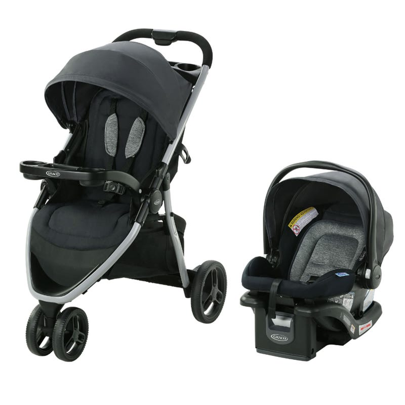 Pace 2.0 Travel System with SnugRide 35 Lite Infant Car Seat - Oakton