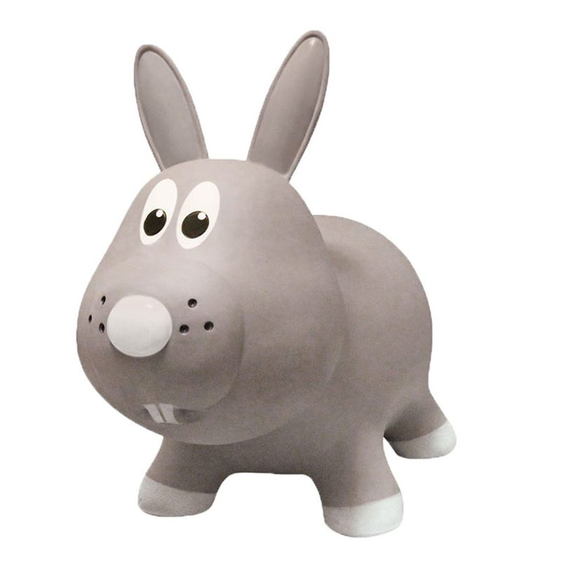 Farm Hoppers Jumping Animals - Gray Rabbit