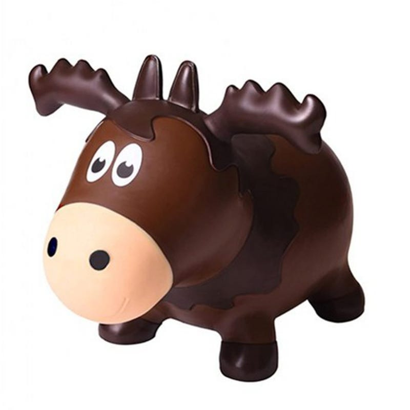 Farm Hoppers Jumping Animals - Brown Moose
