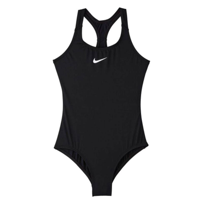 Solid Racerback One-Piece Swimsuit 8-14y
