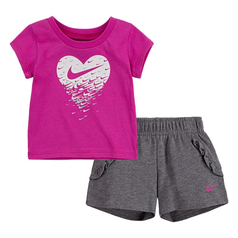 Nike French Terry Shorts Set 12-24m
