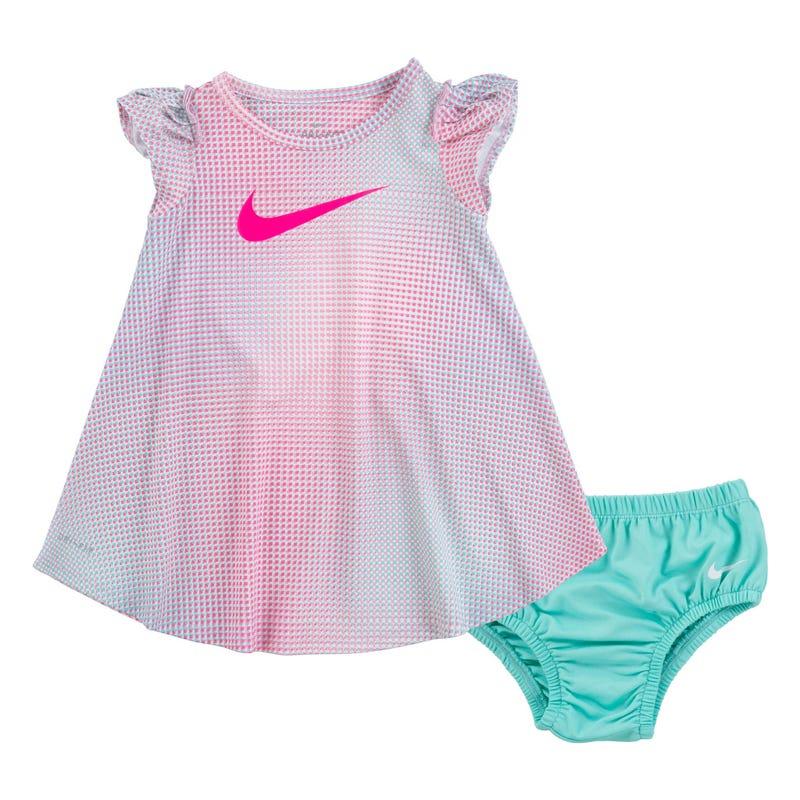 Pixel Pop Dress 12-24m