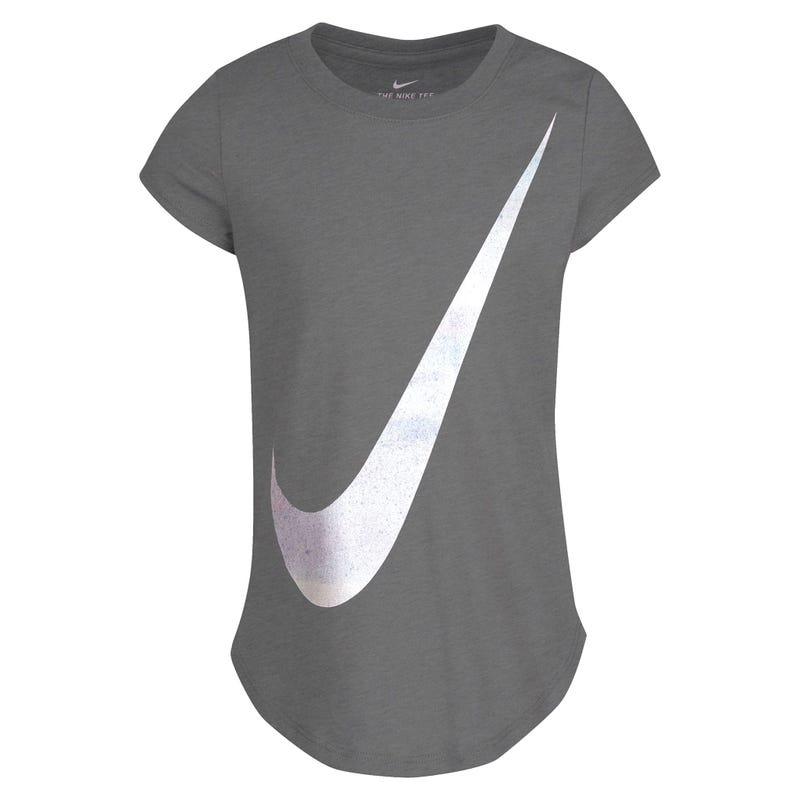 T-Shirt Swoosh Rise Print 4-6x