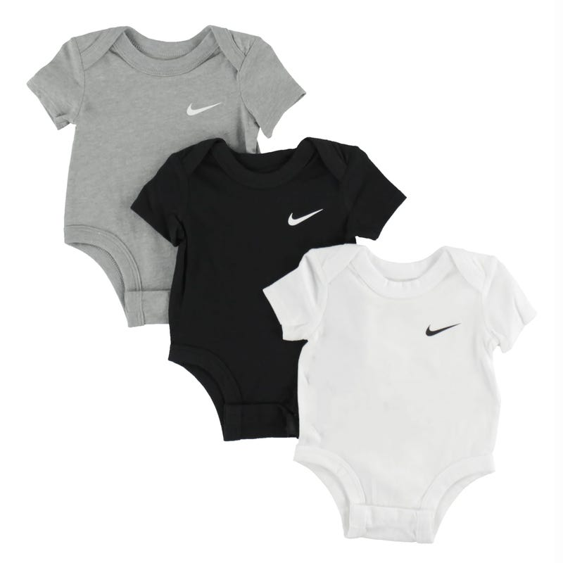 Swoosh Bodysuit 3pcs Set 0-9m