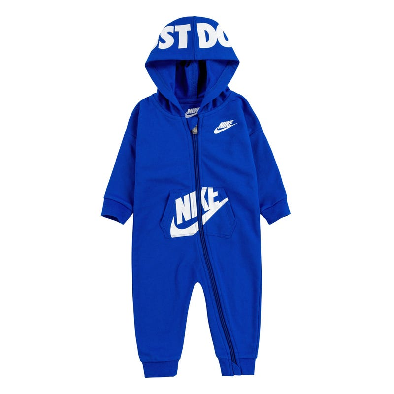 Hooded Baby FT Coverall 12-24m