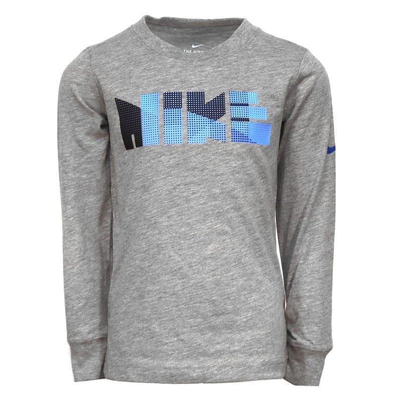 T-Shirt à Manches Longues Géo Block 4-7ans