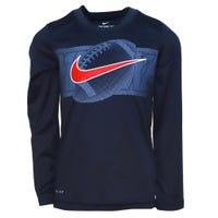 T-Shirt à Manches Longues Drifit Football 4-7ans