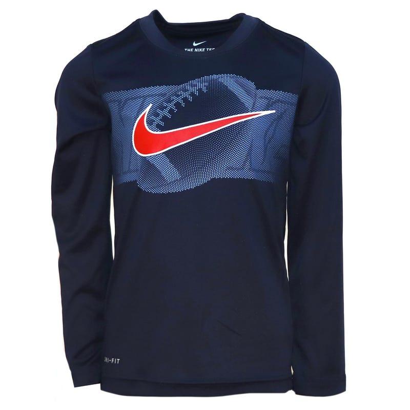 Football Dri-Fit Long Sleeve T-Shirt  4-7y