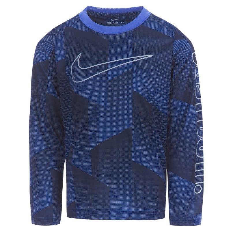 Micro Dri-Fit Long Sleeve T-Shirt  4-7y