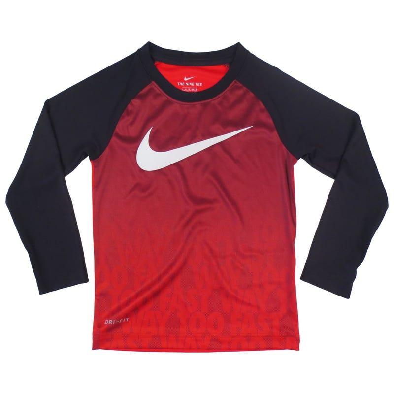 Fast Dri-Fit Raglan Long Sleeve T-Shirt 4-7y