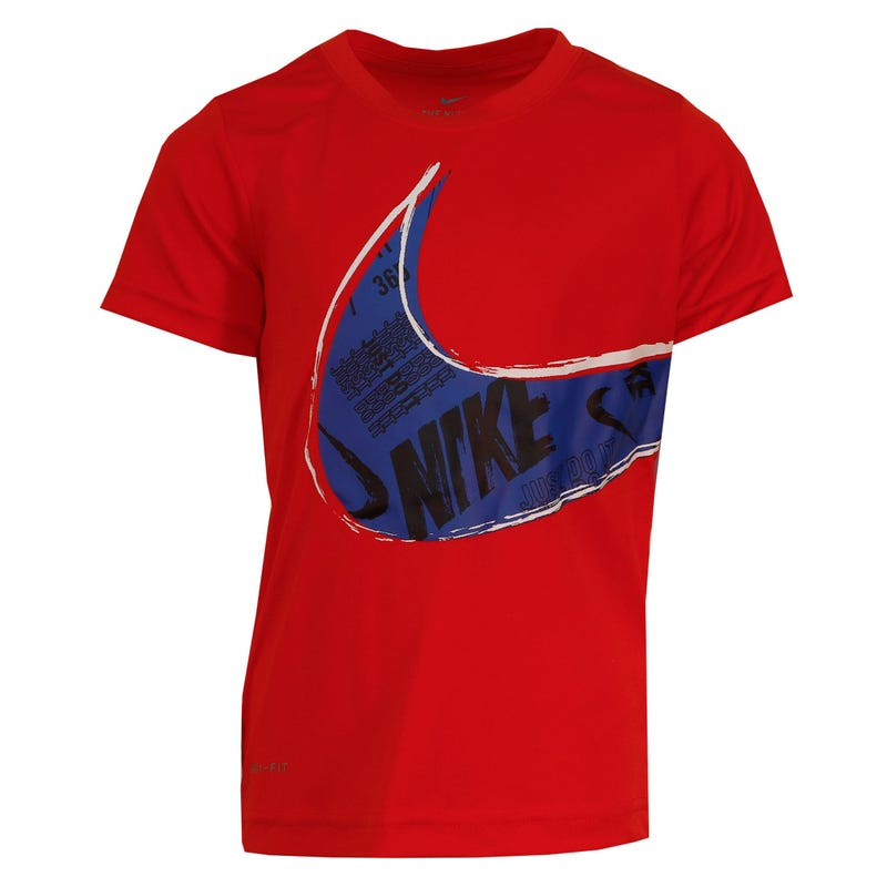 Muddy Swoosh T-Shirt 4-7y