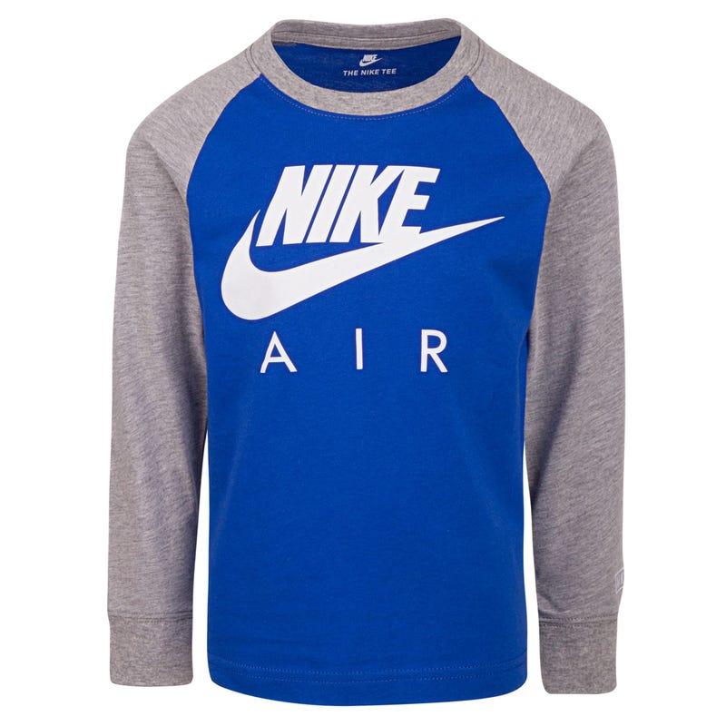 T-Shirt Raglan à Manches Longues Nike 4-7ans
