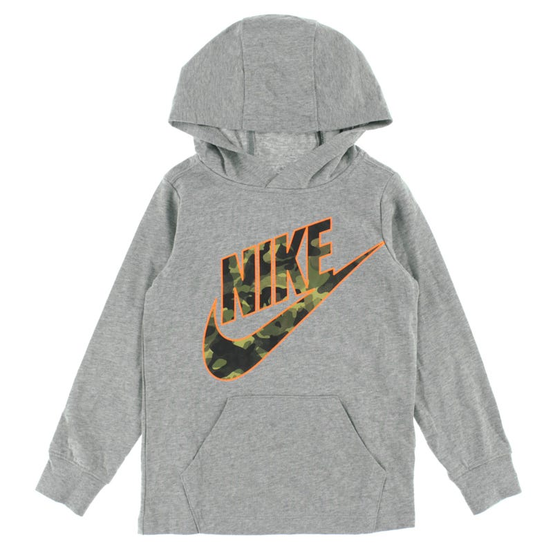 Camo Long Sleeves Hooded T-Shirt 4-7years