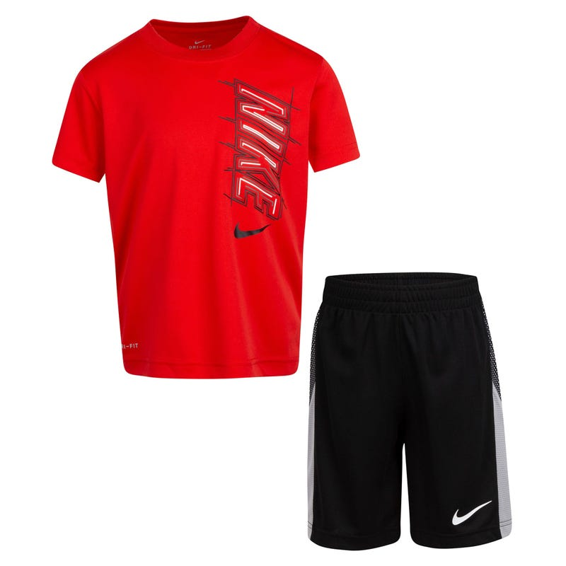 Ensemble Short Nike DF Block 4-7ans