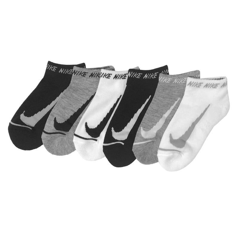 6-pack Nike Swoosh Socks 4-7y