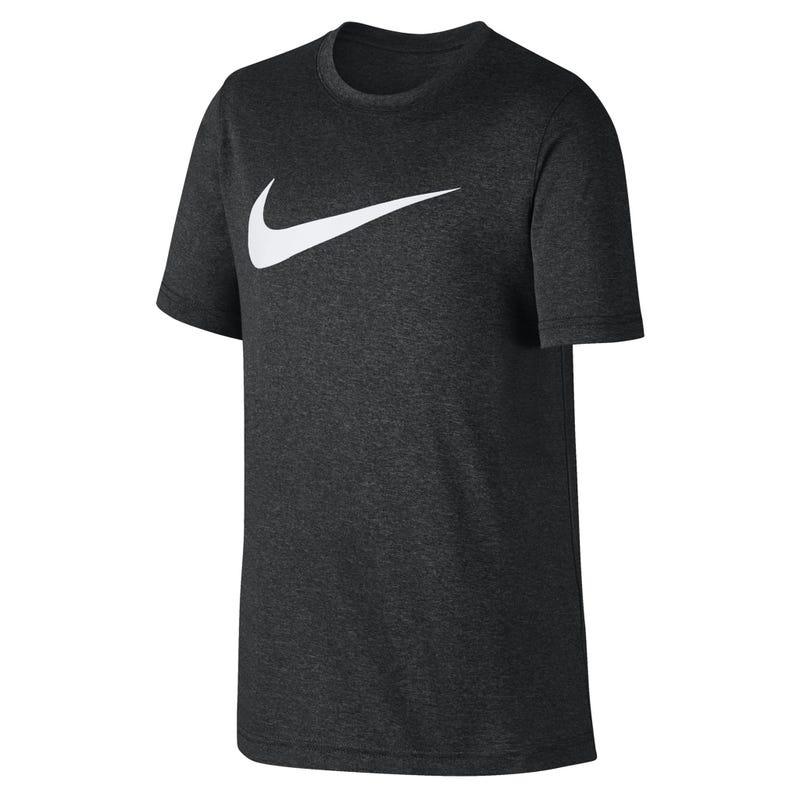 Swoosh T-Shirt 8-16y - Black