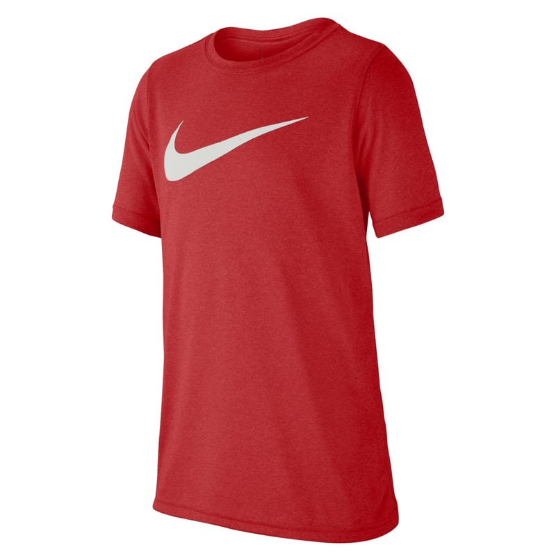 Swoosh T-Shirt 8-16y - Red