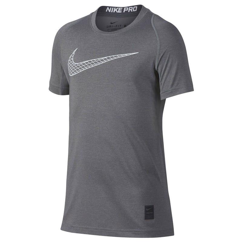 Nike Pro Training T-Shirt 8-16y - Grey
