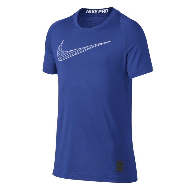 T-Shirt Logo Tech 8-16ans - Royal