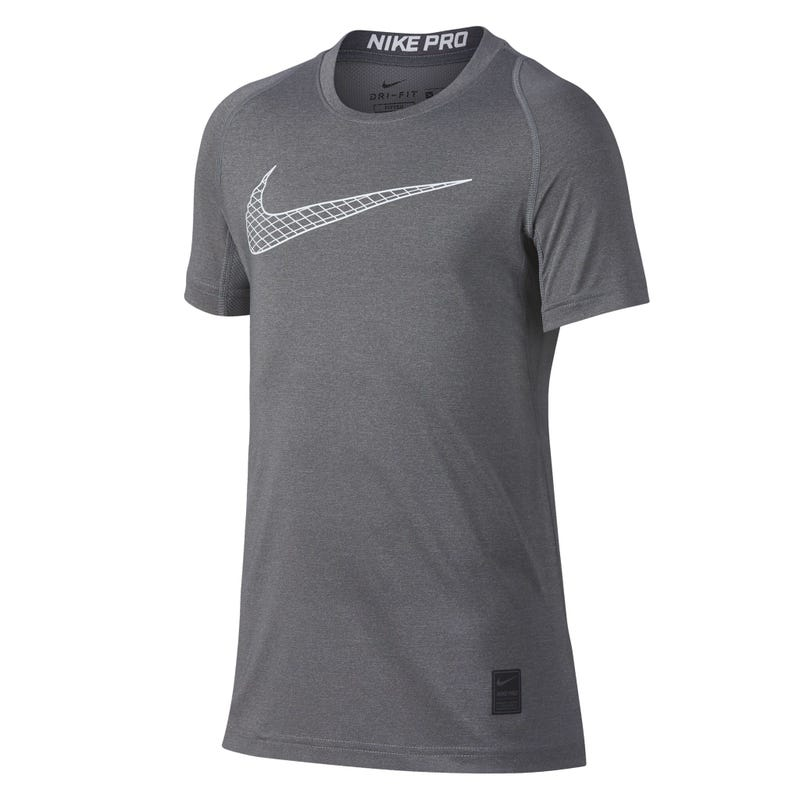 Nike Pro Training T-Shirt 8-16y - Grey