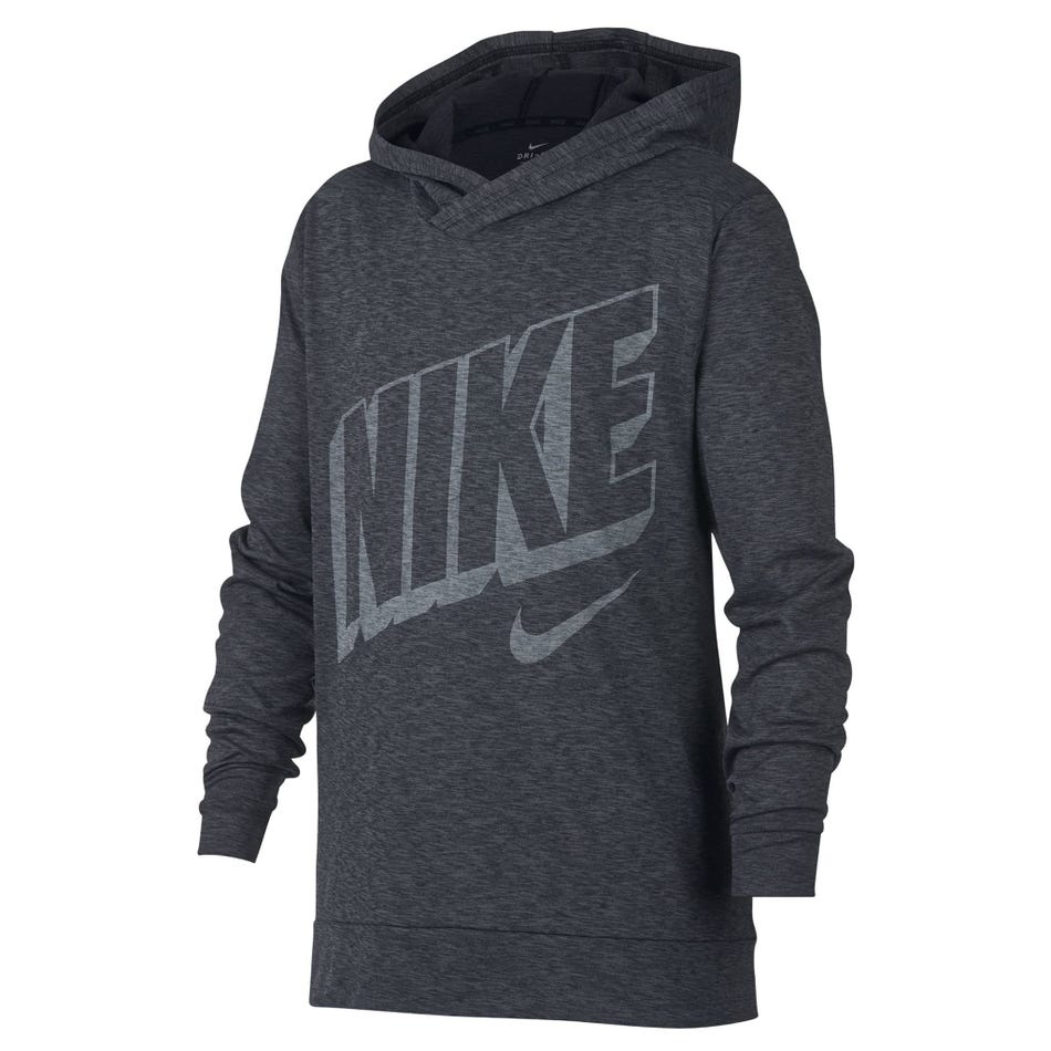 2f4cb04a Nike Dri-Fit Breathe Long Sleeve Hooded T-Shirt 8-16y - Clement