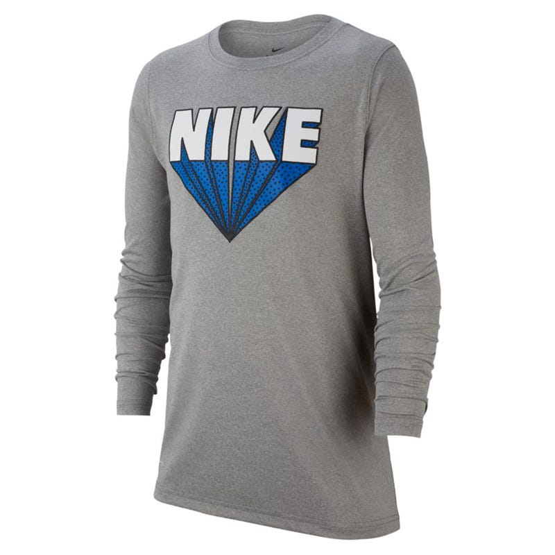 Dry Zoom Logo Long Sleeve T-Shirt 8-16y