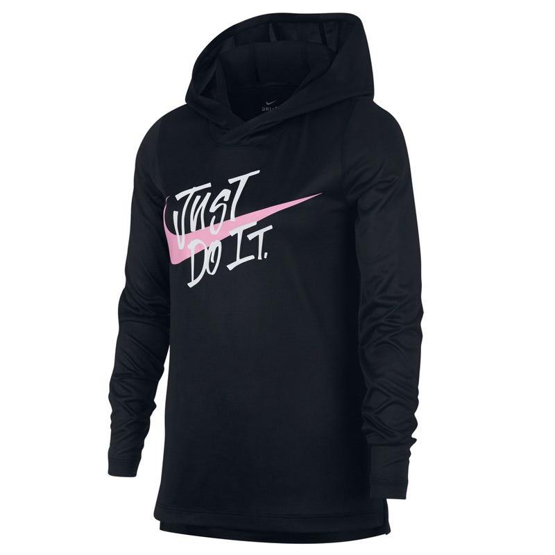 T-Shirt à Manches Longues Capuchon Nike 8-16ans