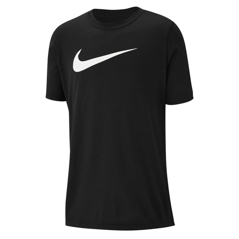 Swoosh Black T-Shirt 8-16